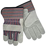 Steiner SPC12-S Leather Palm Work Gloves, Slightly Select Shoulder Split Cowhide, 2-Inch Cuff, Small (12-Pack)