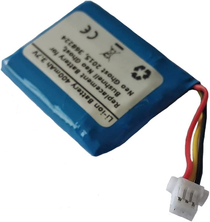 Neo Ghost 2015 XPS 3.7 V 400mAh Replacement Battery for Bushnell 368224 Neo Ghost PN AE542730P
