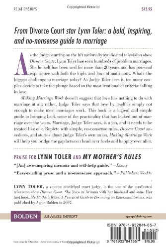 Making Marriage Work By Lynn Toler