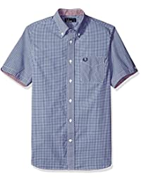 Fred Perry mens Classic Gingham Shirt
