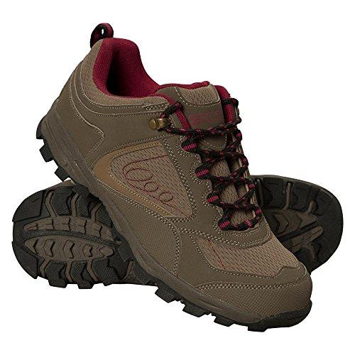 Mountain Warehouse Chaussures de Marche McLeod pour Femme Marron