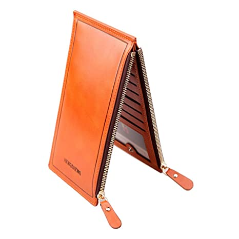 Olprkgdg Billetero Mujer Multi-Card Monedero Porta-Tarjeta ...