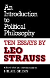 An Introduction to Political Philosophy: Ten Essays (Culture of Jewish Modernity)
