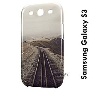 Carcasa Funda Galaxy S3 Railway path Protectora Case Cover