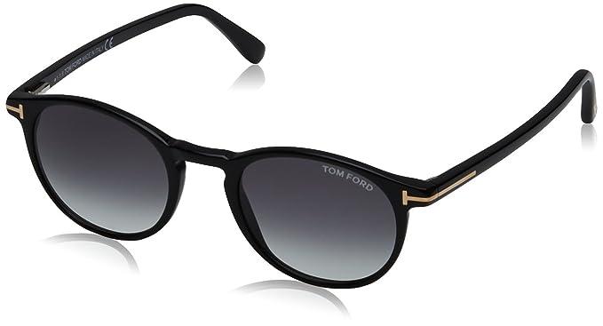 Tom Ford FT0539 01B 48 Gafas de Sol, (Negro Lucido\Fumo ...