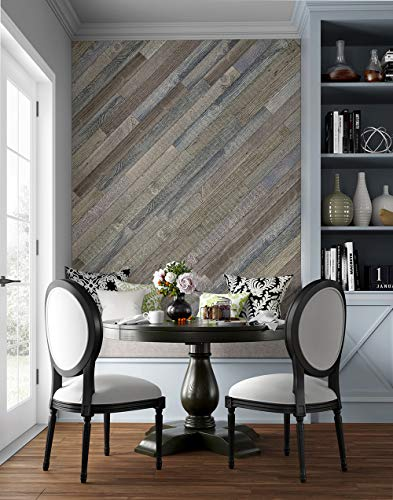 Reproduction Reclaimed Barnwood Wall Planks (Rustic Natural)
