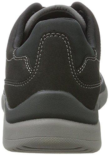 Clarks Herren Tunsil Plain Schuhe Schwarz (Black)