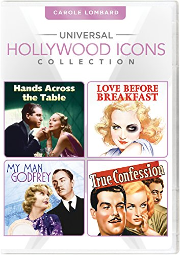 Universal Hollywood Icons Collection: Carole Lombard (Hands Across the Table / Love Before Breakfast / My Man Godfrey / True - Store Outlet Icon