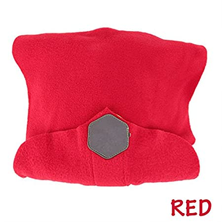Soft Neck Support Travel Pillow - Holds Neck in Upright Position- Portable for Flight Travel Sleeping - Multi Function Pillow Wear as Scarf Keep Fashion Warm HUPLUE