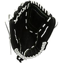 Worth Women's Shutout Fast Pitch Softball Glove, Left Hand, 12-Inch, Black