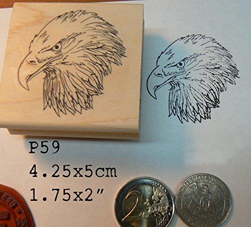 P59 Eagle rubber stamp