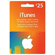 $25CAD/ CANADIAN Apple iTunes Gift Card Certificate, iTune CANADA, not US.