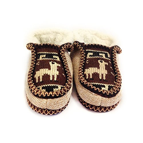 Real Wool Argentina from Argentino Inside Marron The Slippers Moccasin Salta Handmade qxX7CgIwp