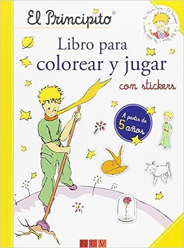 El Principito Libro Para Colorear Y Jugar Amazones Vvaa Libros