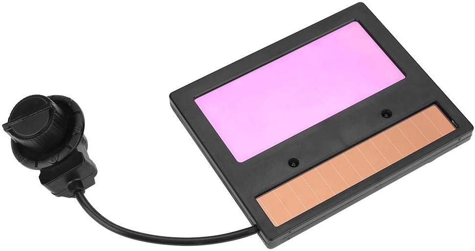 DIN9-DIN13 LCD Screen Solar Welding Lens Automation UV IR Filter Goggles Lens CA