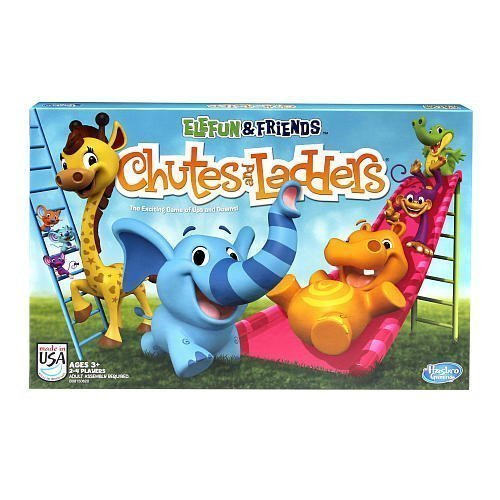 Elefun and Friends Chutes and Ladders Board Game by hasbro