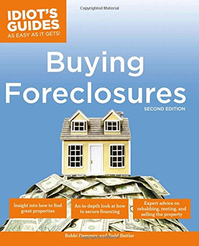 Idiot's Guides: Buying Foreclosures, 2E (Complete Idiot's Guides (Lifestyle - Real Gift Guide Simple