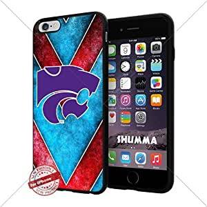 "NCAA Jacksonville State Gamecocks Cool iPhone 6 Plus (6+ , 5.5"") Smartphone Case Cover Collector iphone TPU Rubber Case Black"
