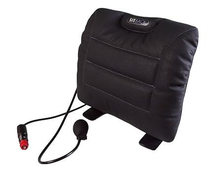 Sitback - Cojín para respaldo de asiento de coche (aire y ...