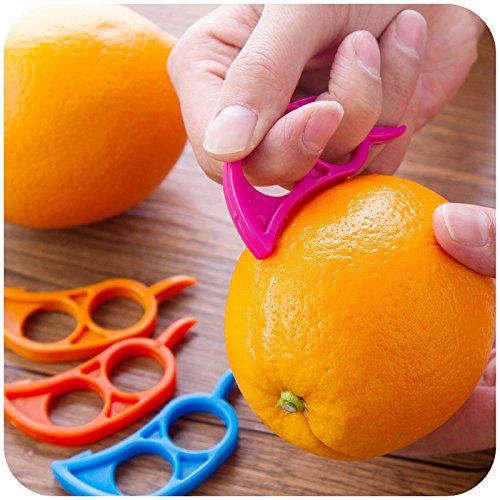1 Pcs Orange Peeler Tupperware Products Orange Peeler Orange Peelers Zesters Opener Practical Lemon Fruit Slicer Fruit Stripper Opener Fruit /& Vegetable Cooking Tools by Generic