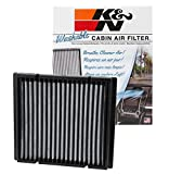 K&N VF2019 Washable & Reusable Cabin Air Filter Cleans and Freshens Incoming Air for your Lincoln, Mazda, Ford