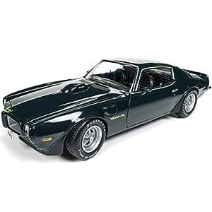 AUTO WORLD 1:18 MUSCLE CAR & CORVETTE NATIONALS - 1973 PONTIAC FIREBIRD TRANS AM AMM1109