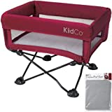 KidCo - DreamPod Portable Bassinet with Extra Sheet - Cranberry