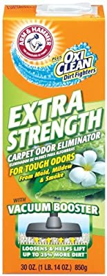 Arm & Hammer Odor Eliminator For Carpet & Room Extra Strength Boxed 30 (Pack of 12)