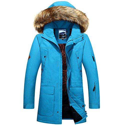 Aire E Invierno Traje Libre Blue De Impermeable A Prueba Cxks Caliente Viento Al Esquí xHBgPg6q