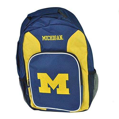 ncaa-concept-one-michigan-wolverines-southpaw-felt-logo-school-backpack-book-bag