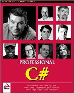 Book Professional C# (Beta 2 Edition) by Simon Robinson (2001-06-01)