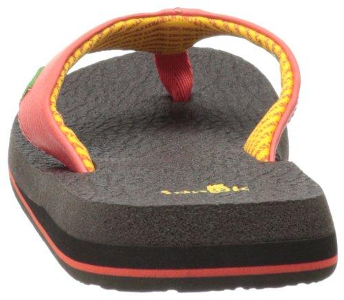 Sanuk Dames Yoga Mat Flip-flop Koraal