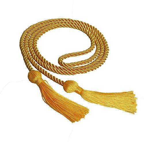 GraduationForYou Single Color Graduation Honor Cord-More Than 15 Colors for Your Options