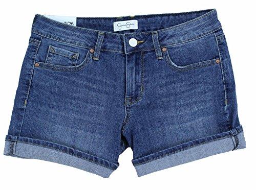 Jessica Simpson Womens Rolled Cuff Denim Shorts (6)