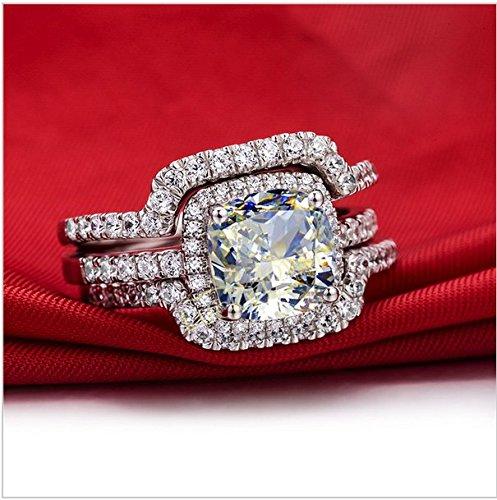 100-Carat-Vvs1-Nscd-Bague-de-fianailles-en-platine-avec-diamant-sur-argent-55