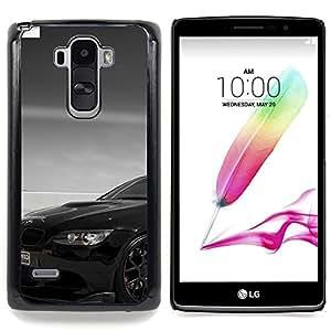 """Negro Beemer"""" - Metal de aluminio y de plástico duro Caja del teléfono - Negro - LG G4 Stylus / G Stylo / LS770 H635 H630D H631 MS631 H635 H540 H630D H542"""