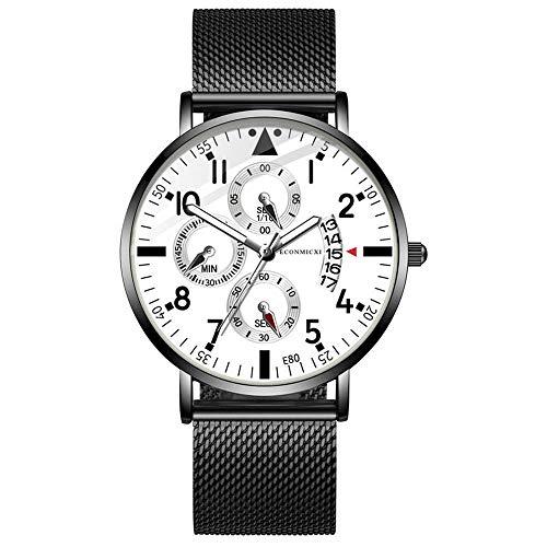 HunYUN Men's Luxury Essential Quartz Analog Watch Fashion Ultra Thin Waterproof Wrist Watch Customized Gift (Series Analog)