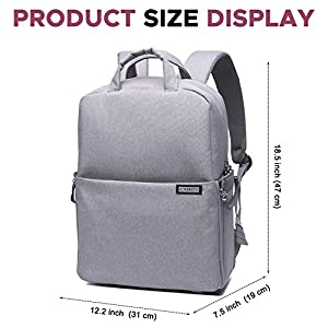 Professional Fashion Travel DSLR/SLR Camera Backpack Multifunction Outdoor Waterproof Laptop Bag for Sony Canon Nikon Olympus Lens Tripod and Accessories