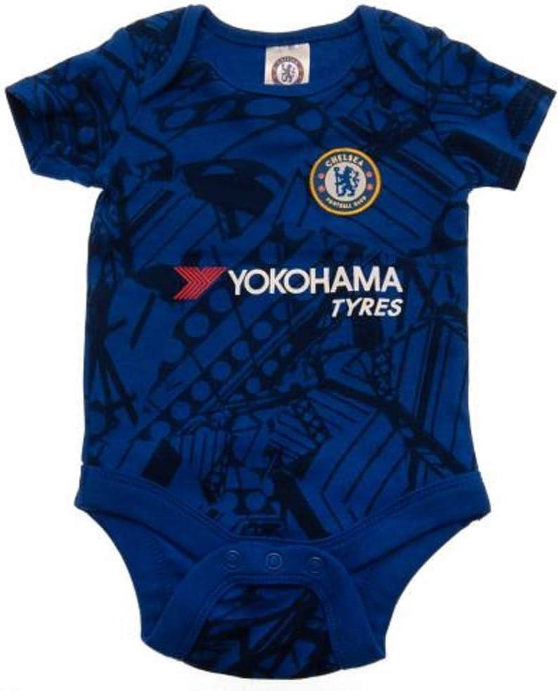 Official Chelsea FC Kit Bodysuit Baby Babygrow Home /& Away 2019//20 CM