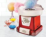 Nostalgia PCM805RETRORED Retro Series Hard & Sugar Free Candy Cotton Candy Maker