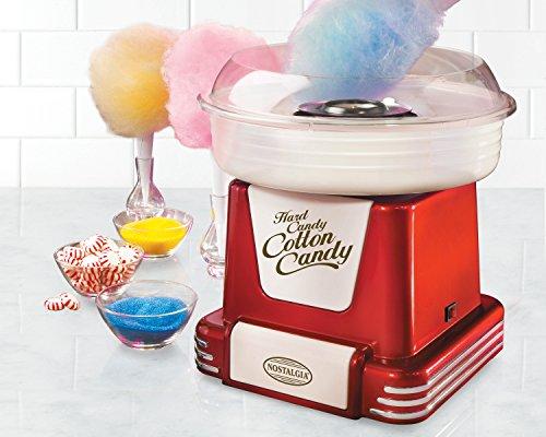 082677523167 - Nostalgia PCM805RETRORED Retro Series Hard & Sugar Free Candy Cotton Candy Maker carousel main 1