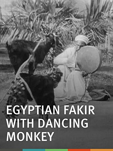 Egyptian Fakir with Dancing Monkey