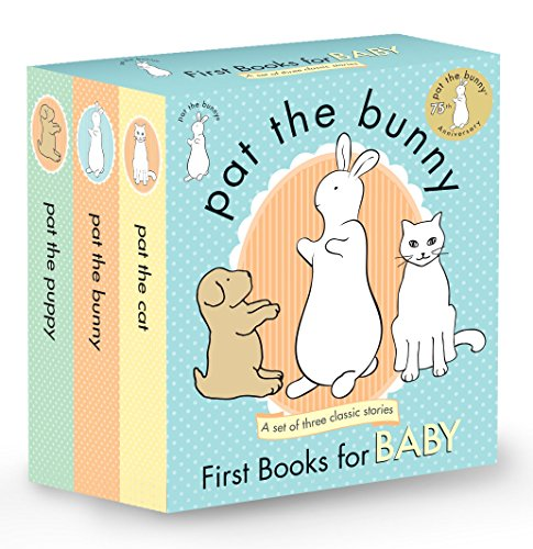 Pat the Bunny: First Books for Baby (Pat the Bunny) (Touch-and-Feel) by Golden Books (Image #1)