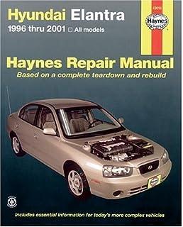 Hyundai elantra 1996 2006 haynes repair manual haynes haynes hyundai elantra 1996 thru 2001 haynes manuals fandeluxe Gallery