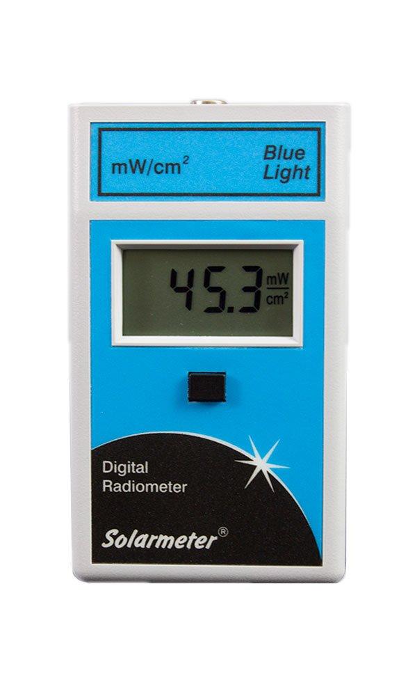 Solarmeter Model 9.4 Blue Light Meter - Measures 422-499nm with range from 0-199.9 mW/cm² Blue Light