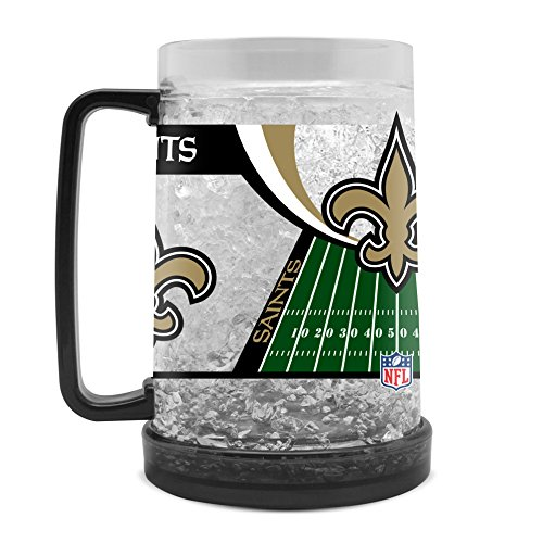 - NFL New Orleans Saints 16oz Crystal Freezer Mug