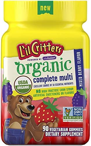 Lil Critters Organic Complete Multivitamin product image