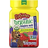 L'il Critters Organic Complete Multivitamin Gummies for Kids, 90ct
