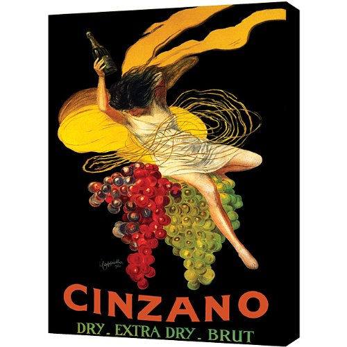 Cappiello Canvas Print - The Art Wall Asti Cinzano Gallery wrapped Canvas Art by Leonetto Cappiello