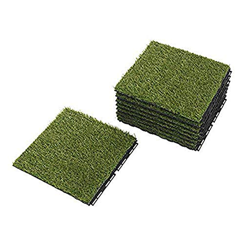 Ikea Outdoor Deck and Patio Interlocking Flooring Tiles (Artificial Grass) (Ikea Grass)